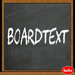 Board Chalk Text BoardText