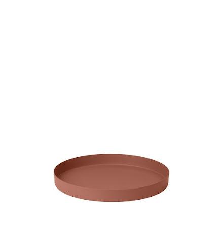 REO Bricka, Ø 25,5 cm, Small, Rustic Brown