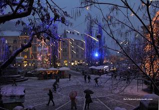 Photo: Prešeren Square, Ljubljana, 04-Dec-2012.
