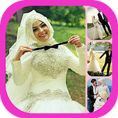 Hijab Wedding Couple Pro