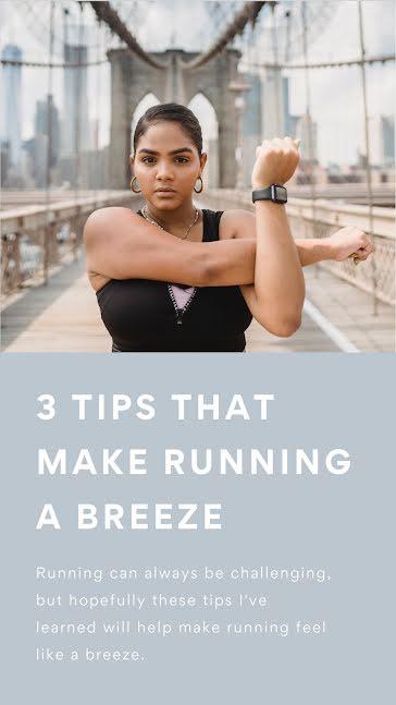 Breeze Running - Facebook Story template