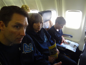 Photo: on plane