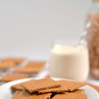 100% Whole Wheat Graham Crackers