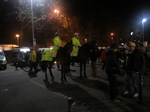 Photo: Pferde Polizei