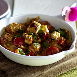 Paneer and Tomatoes