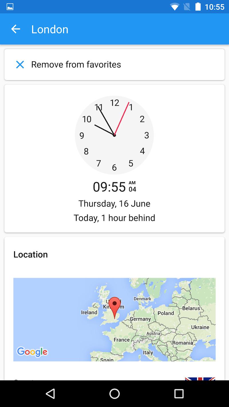 World Clock by timeanddate.com Screenshot 4