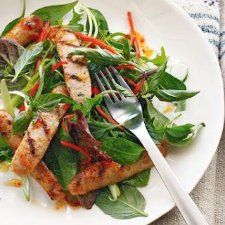 Thai Pork Sausage Recipes.