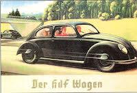 KDF-Wagen på Autobahn