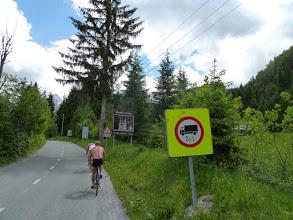 Photo: Anfahrt zum Vrsic - Pass