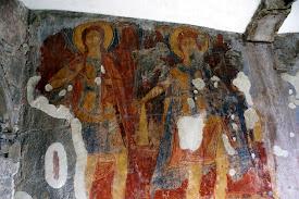 Erketi cerkvės freska