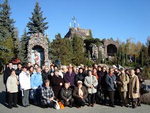 Photo: Grupa pielgrzymkowa przed Golgotą