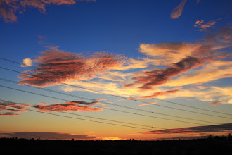 Photo: One of the nice side effects of the current heatwave in SoCal: Beautiful sunsets.