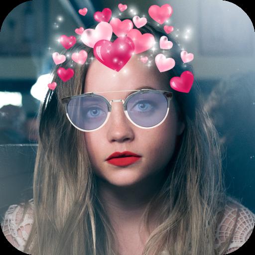 Heart Crown Effect Maker App Icon