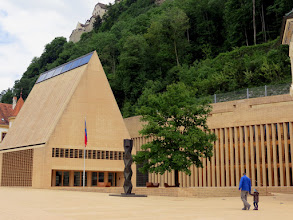 Photo: Vaduz - Städtle, parliament (Landtag) building