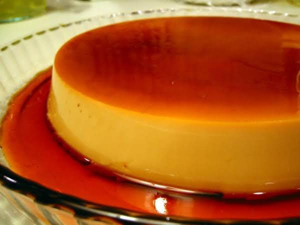Cuban flan recipe easy step by step directions just a pinch recipes forumfinder Choice Image