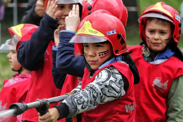 Piccoli pompieri crescono di romano