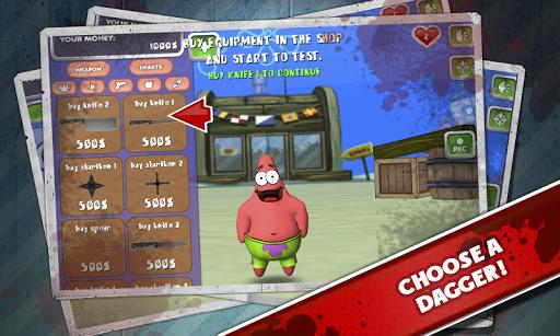 Kick The Hilarious Patrick