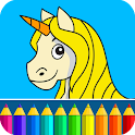 Fairy tales: Drawing game icon
