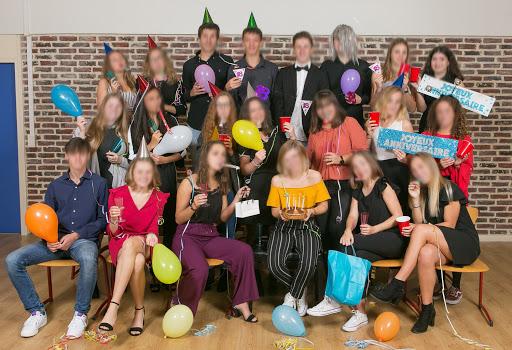 Groupe rigolo lycée professionnel theme ballon