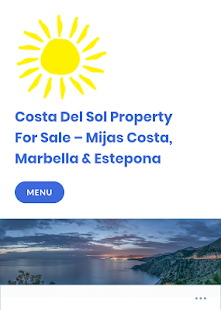 Costa Del Sol Property- screenshot thumbnail