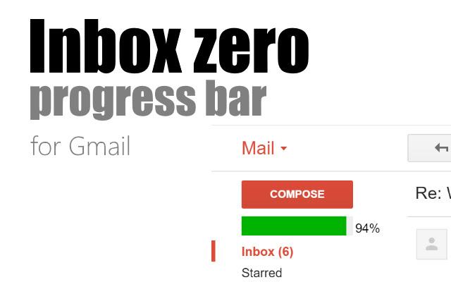 Inbox Zero Progress Bar