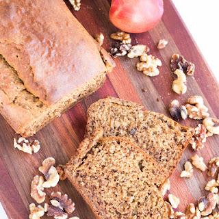 Peach Bread with Walnuts
