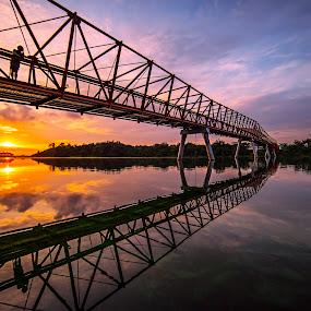 Punggol Wetland Bridge by Gordon Koh - Buildings & Architecture Bridges & Suspended Structures (  )