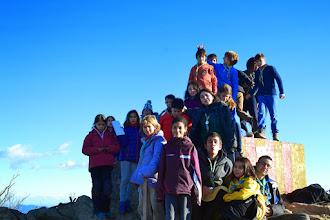 Photo: Els Llops i les Daines al Puigsacalm (1.514metres) a la Vall d'en Bas, la Garrotxa.  El cim el van fer durant la sortida de Nadal.