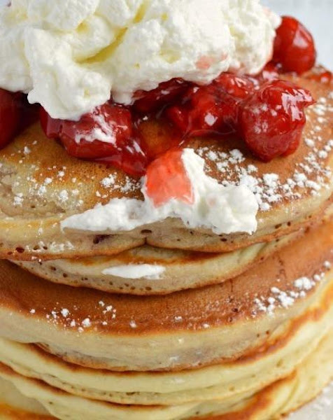 Cherry-vanilla Pancakes Recipe