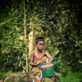 drumer boy ... by Monica Anantyowati - Babies & Children Children Candids