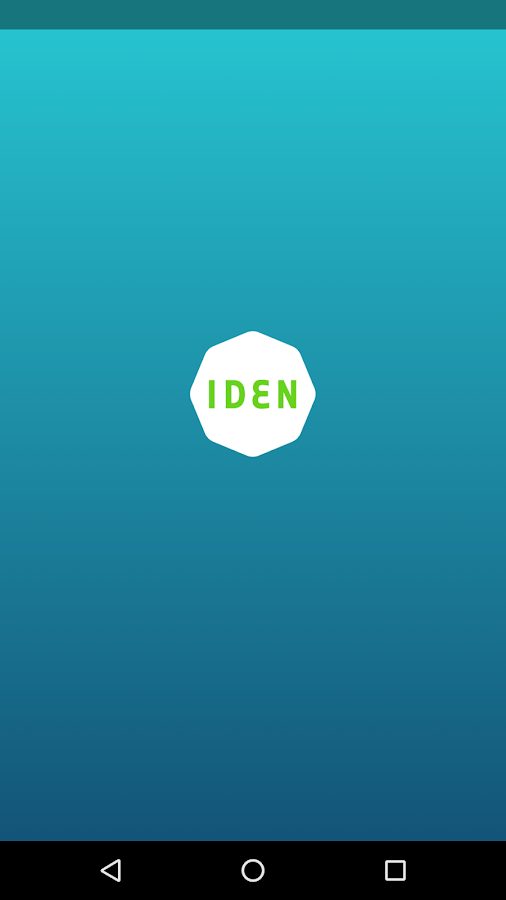 IDEN- screenshot