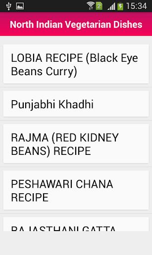 North Indian Recipe