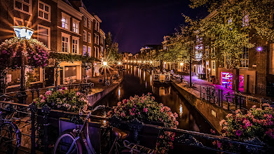 Photo: #Summer #night in #Leiden  / #Netherlands   #nightphotography #HDR