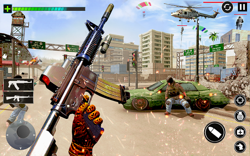 Combat Commando Gun Shooter  screenshots 2