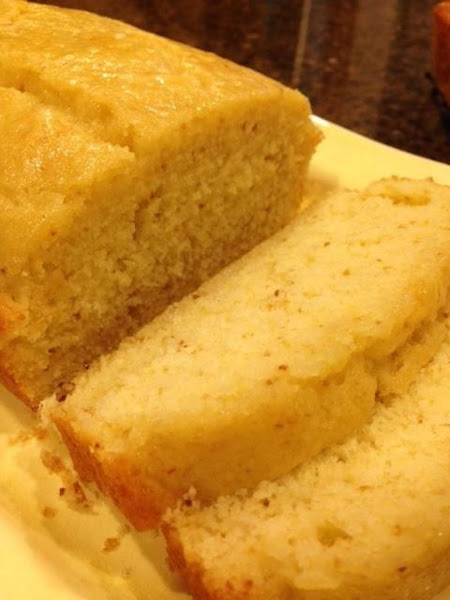 Lemon Almond Tea Bread Recipe