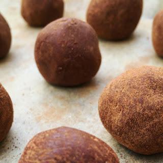 Chocolate Protein Truffles.