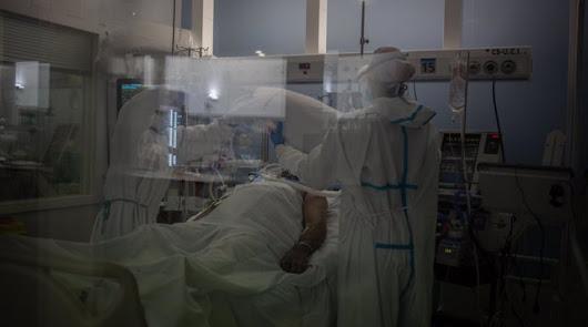 Los hospitales de la provincia siguen con una gran carga.