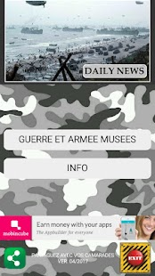 Guide Musées Militaires - náhled