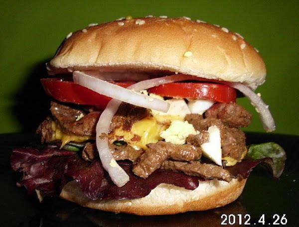 Steak And Salad Sammie Recipe