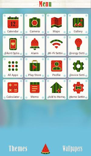 背景圖片/icon 西瓜冰棒|玩個人化App免費|玩APPs