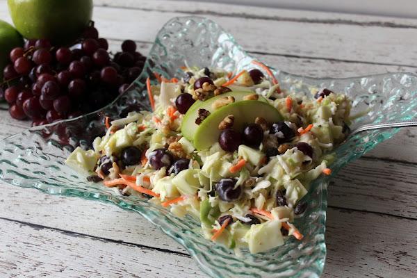 Coleslaw With Fruit Recipe