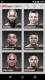 UFC Fans powered by MetroPCS- screenshot thumbnail