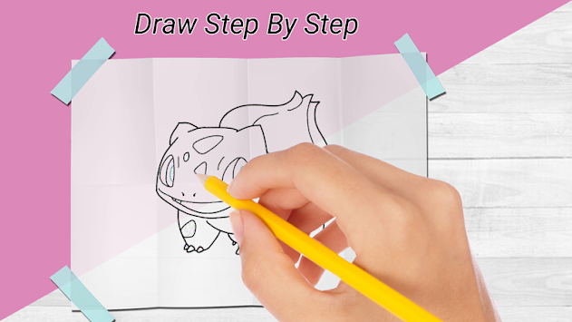 How to draw pokemon & Pokemon APK screenshot thumbnail 1
