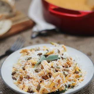 Creamy Pumpkin Zucchini Noodles Recipe