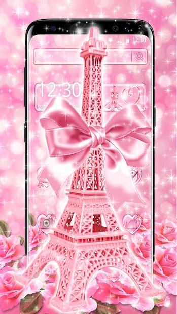 Love Rose Eiffel Tower Theme