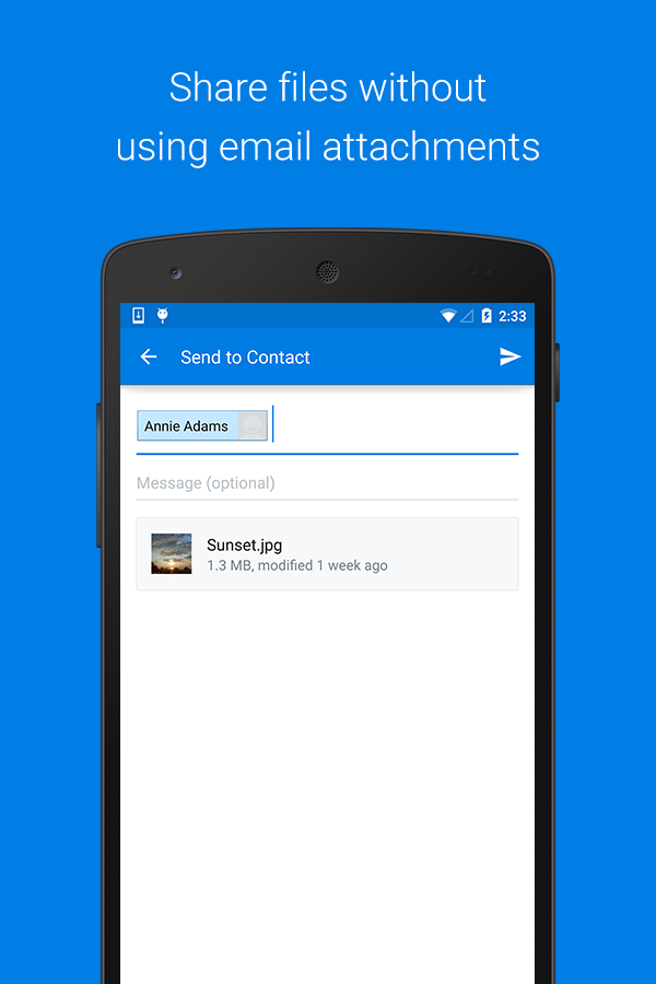 Dropbox - screenshot