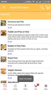 Royal Grill Cuisine screenshot 4