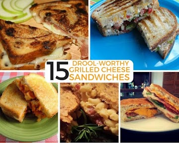 15 Drool-worthy Grilled Cheese Sandwiches Recipe