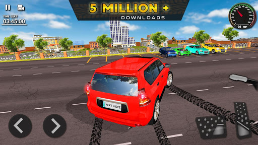 Prado Car Driving - A Luxury Simulator Games apktram screenshots 8