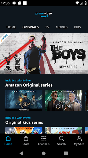 Amazon Prime Video screenshot 1